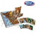 SKAG Ученическа тетрадка Smart Notebook A4 Голям формат