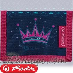 2019 Herlitz Loop Girls Малко портмоне Crown 50021369