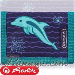 2019 Herlitz Loop Girls Малко портмоне Dolphin 50021369