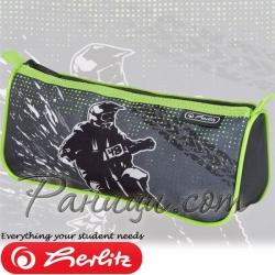 Herlitz Sport Boys Mix Несесер с един цип Motocross 50021239