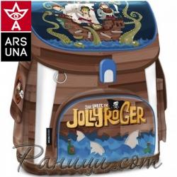 Jolly Roger Ученическа Ергономична раница Compact 94498066