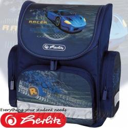 Herlitz Mini Blue Racer Ученическа раница 11408259