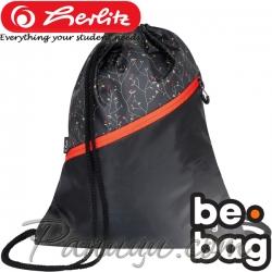 Спортна торба Herlitz be.bag be.daily Flower Wall 24800310
