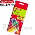 *Herlitz Цветни моливи 24 цвята