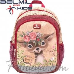 Belmil Animal Forest Детска раница за градина Bambi 305-4
