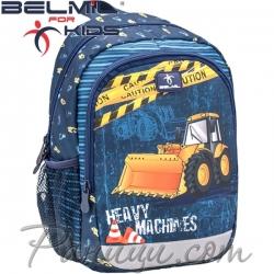 Belmil Детска раница за градина Heavy Machinery 305-4