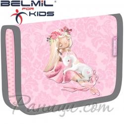 Belmil Classy Ученически празен несесер с 1 цип Ballerina 335-72-18