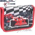 Belmil MiniFit Ученически празен несесер с 1 цип Racing Sport 335-74-10