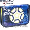 Belmil MiniFit Ученически празен несесер с 1 цип Soccer Sport 335-74-11