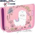 Belmil Classy Ученически празен несесер с 1 цип Llama 335-74-19