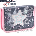 Belmil MiniFit Ученически празен несесер с 1 цип Shine Like a Star 335-74-8
