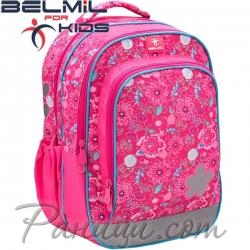 Belmil Ученическа раница Pink Flowers 338-35-10