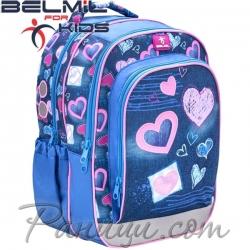 Belmil Ученическа раница Purple Love 338-35-8