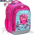 Belmil Ученическа раница Pinky Owl 338-35-9