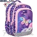 Belmil Ученическа раница My Butterfly 338-35-9