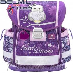 2020 Belmil Ергономична ученическа раница Sweet Dreams 403-13-14