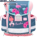 2020 Belmil Ергономична ученическа раница Flamingo Paradise 403-13-33