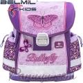 2020 Belmil Ергономична ученическа раница Shiny Butterfly 403-13-8