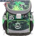 Belmil Mini Fit Ергономична ученическа раница World Of Dinosaurs 405-33-15