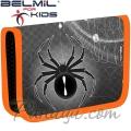Belmil Classy Ученически празен несесер с 1 цип Spider 335-74-37