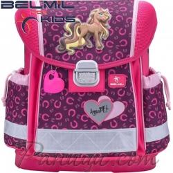2018 Belmil Anna Pet Pony Ергономична ученическа раница 403-13