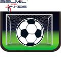 Belmil Ученически празен несесер с 1 цип Soccer Championship