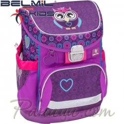Belmil Ергономична ученическа раница  Mini Fit Colorful 405-33