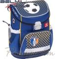 Belmil Ергономична ученическа раница  Mini Fit Football 405-33