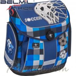Belmil Ергономична ученическа раница Missy and Mister Soccer 405-30