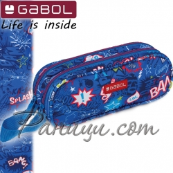 Gabol Bang Мек несесер с два ципа 22497699