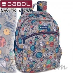2020 Gabol Planet Ученическа раница с едно отделение 22710699