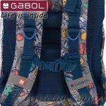 2020 Gabol Planet Ученическа раница с едно отделение 22711999