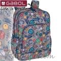 2020 Gabol Planet Ученическа раница с две отделения 22710099