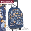2021 Gabol Symbol Ученическа раница с колелца 22934599