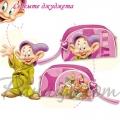 Auguri The Seven Dwarfs - Ученически несесер с 1 цип 86773