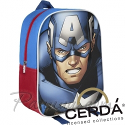 Cerda 3D Детска раница Captain America 2700001598