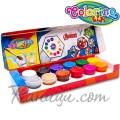 Colorino Kids Темперни боички в бурканчета 12 цвята Avengers 91420