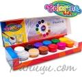 Colorino Kids Темперни боички в бурканчета 12 цвята Frozen 91031