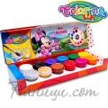 Colorino Kids Темперни боички в бурканчета 12 цвята Minnie Mouse 90645
