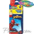 Colorino Kids Темперни бои в тубички 12 цвята Spiderman 91840