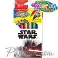 Colorino Kids Флумастри 6 цвята металик Star Wars 89571