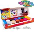 Colorino Kids Темперни боички в бурканчета 12 цвята Star Wars 89489