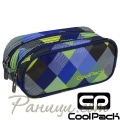 2018 Cool Pack Clever Несесер Blue Patchwork 81723
