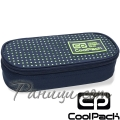 Cool Pack Campus Объл несесер Dots Yellow/Navy B62060