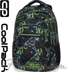 Cool Pack College Tech Ученическа раница Electric Green B36099