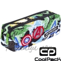 Cool Pack Edge Несесер с два ципа Avengers Badges B69308