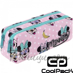 Cool Pack Edge Несесер с два ципа Minnie Pink B69302