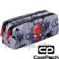 Cool Pack Edge Несесер с два ципа Spiderman Black B69303