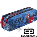 Cool Pack Edge Несесер с два ципа Spiderman Denim B69304