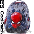 Cool Pack Joy S Ученическа раница Spiderman Black B48303